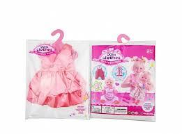 <b>Junfa Toys Одежда для</b> кукол. Платье атласное, цвет коралловый
