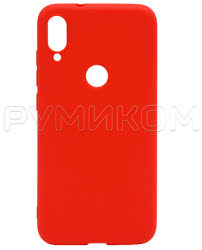 <b>Силиконовый бампер New Color</b> для Xiaomi Mi Play (красный ...