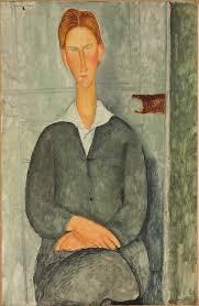 sondaggio quale di queste opere ti piace di pi ugrave artslife amedeo modigliani 1884 1920 jeune homme roux assis 100 5 x 65 cm