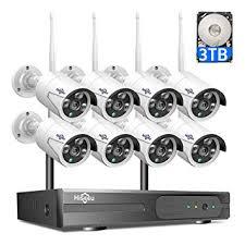 【3TB HDD Pre-Install 】 8 Channel <b>HD 1080P</b> Wireless <b>IP Camera</b>