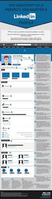 the anatomy of a perfect job hunter s linkedin profile the anatomy of a perfect job hunter s linkedin profile infographic career linkedin