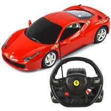 <b>1:18</b> Scale Ferrari 458 Italia Model RC Car With Steering <b>controller</b>