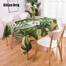 <b>Nordic</b> style Animal flamingo tablecloth Tropical <b>palm tree</b> leaves ...