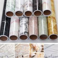 waterproof marble wall stickers cupboard table countertop furniture renovation sticker kitchen self adhesive oil proof wallpaper