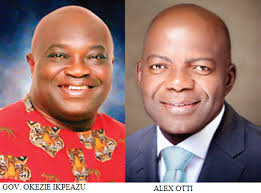 Image result for alex otti and okezie ikpeazu