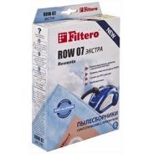 <b>Набор пылесборников Filtero ROW</b> 07 Экстра: 4 шт купить по ...