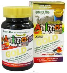 Nature's Plus - <b>Source of Life Animal</b> Parade Gold Children's ...