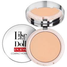 <b>PUPA Like A Doll</b> Perfecting Make-Up Nude Look Compact Powder ...