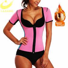 <b>LAZAWG Women Waist trainer</b> Body Shaper Slim Tummy Control ...