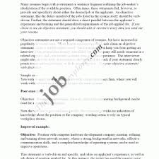 objective samples for resume example resume objective example template cover samples objective statement resume
