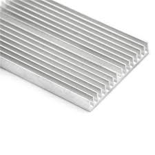 <b>100x60x10mm</b> Aluminum <b>Heatsink</b> For High <b>Power</b> TEC, LED ...