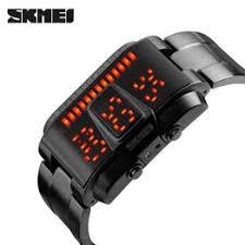 SKMEI Fashion Creative LED Sports Watches Men Top ... - Vova