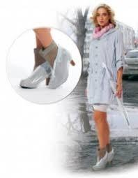 Чехлы грязезащитные для женской обуви на каблуках, размер L ...