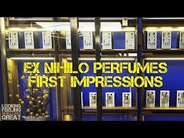 <b>Ex Nihilo</b> Perfumes First Impressions - YouTube