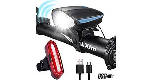 DARKBEAM USB Super Bright Bike Light Set <b>Rechargeable</b> ...