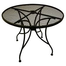 outdoor tables with umbrella hole spanish style outdoor furniture black iron outdoor furniture