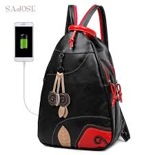 SAJOSE <b>NEW Fashion</b> Leaves Student <b>Style</b> Women's <b>Shoulder</b> ...