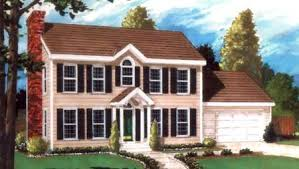 Colonial Style House Plans    Colonial Style House Plan