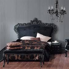 gothic themed bedroom photo