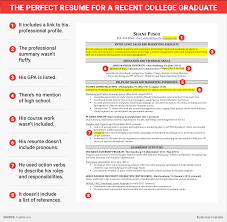 excellent resume for recent college grad business insider skye gould business insider what makes this an excellent résumé