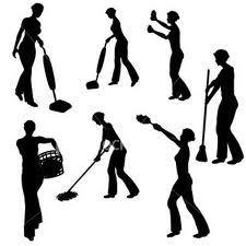 Resultado de imagen de limpiando la casa