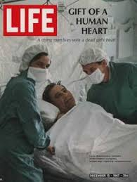 Image result for .Christiaan Barnard performed the first heart transplant in 1967/ the patient lived for 18 days.