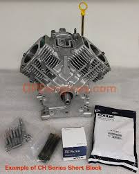 short blocks long blocks mini blocks kohler engines and kohler ch short block