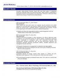 resume security resume sample security resume sample image