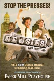 new jersey footlights  stop the presses newsies a smash hit at the paper mill