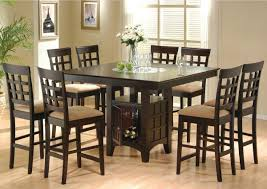 dining room pub style sets: craftman dining room decor with  guests coaster pub style stool furniture  pieces counter