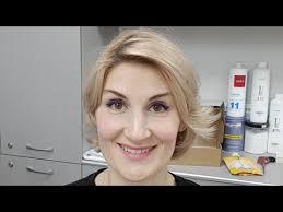 Тонирование <b>волос</b> и укладка - YouTube