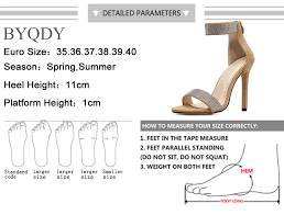 <b>BYQDY New</b> Hot <b>Woman</b> Sandals with Rhinestone Thong Gladiator ...