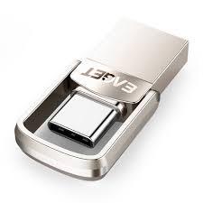 <b>EAGET CU20</b> Metal Dual Port <b>Type</b>-<b>C</b> USB 3.0 Flash Drive OTG ...
