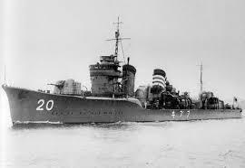 Japanese destroyer Fubuki (1927)