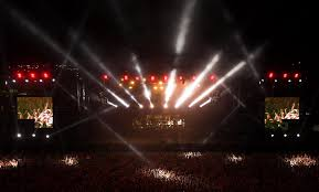 <b>Snow Patrol</b> - <b>Eyes</b> open Tour - Arts Outdoor Lighting Technology