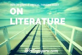 critical thinking essay writing   Template SlideShare