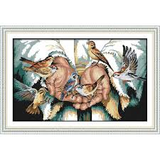 <b>Everlasting love</b> Christmas Antelopes in the <b>snow</b> Ecological cotton ...
