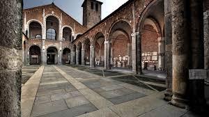 Risultati immagini per la basilica s.ambrogio a milano