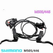 Shimano Deore M505 MTB <b>Bike Bicycle Hydraulic Disc</b> Brake Set ...