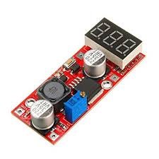 <b>LM2596 DC-DC Adjustable Voltage</b> Regulator Module with: Amazon ...