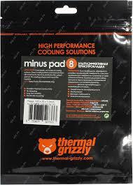 <b>Термопрокладка Thermal Grizzly Minus</b> Pad 8 TG-MP8-120-20-10 ...