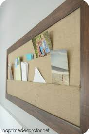 homegoods burlap bulletin board for the office makeover beautiful home office makeover sita