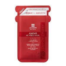Leaders Clinic <b>MEDIU Amino AC-FREE</b> Mask (1ea)|Leaders Clinic ...