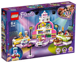 Купить Конструктор <b>LEGO Friends</b> 41393 <b>Соревнование</b> ...