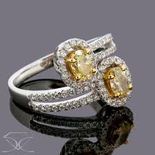 Canary <b>Diamond Ring</b> - <b>Twinkle</b> Diamonds