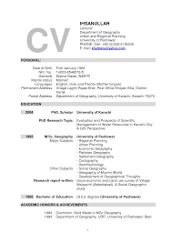 resume for college lecturer college resume  lecturer