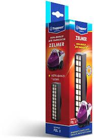 <b>Topperr</b> FZL 2 комплект <b>фильтров</b> для пылесосов Zelmer