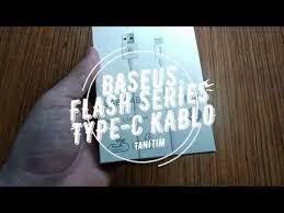 <b>Baseus</b> Şarj Kablosu Type C Usb <b>Flash Series 1</b> Metre CATYPEC ...