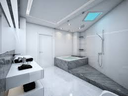 bathroom posh grey bathroom ideas with tiles furniture and flooring decorations glorious corner bathroom lighting ideas ceiling