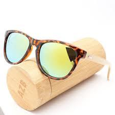 Muyi New Bamboo <b>Sunglasses</b> Wooden <b>Wood Mens</b> Womens Retro ...